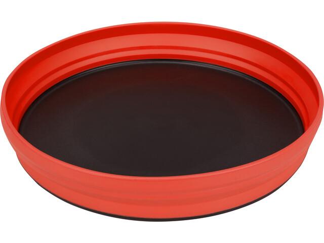 Sea to Summit X-Plate, rød